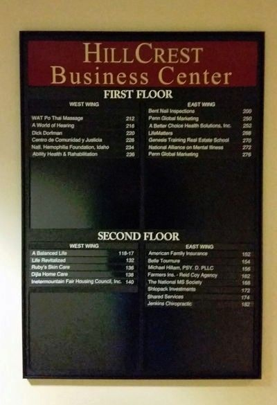 Hillcrest Business Center