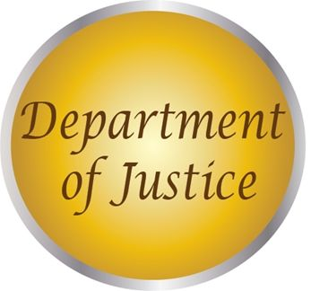 AP-2300 - Carved Plaques of the Seals of  US Department of Justice