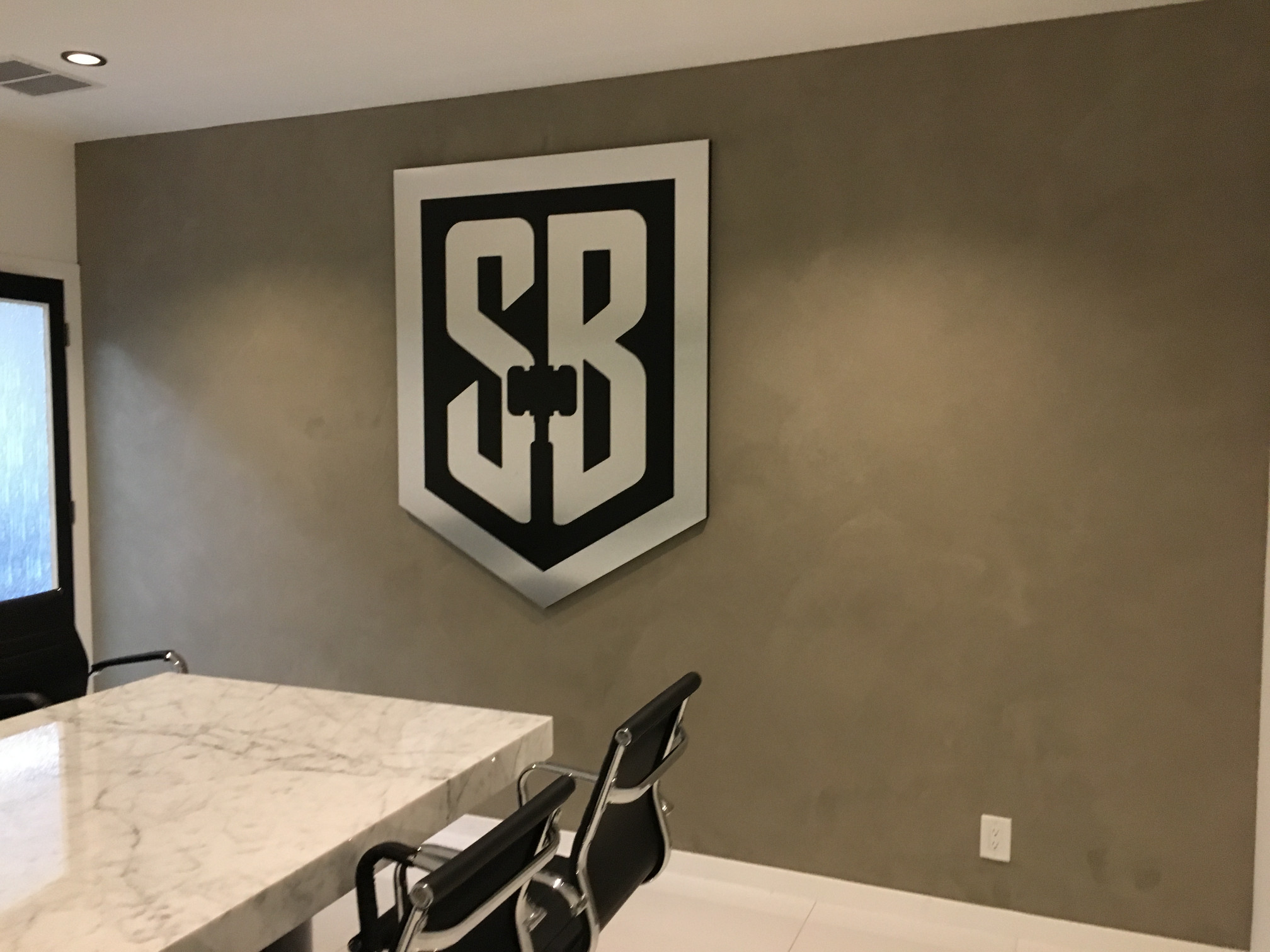 Office lobby signs, Custom 3D Logo Wall Signs, Irvine, CA 92614