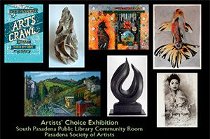2014 - Artists Choice - South Pasadena Library