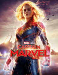 Teen Movies at the Wright-Captain Marvel