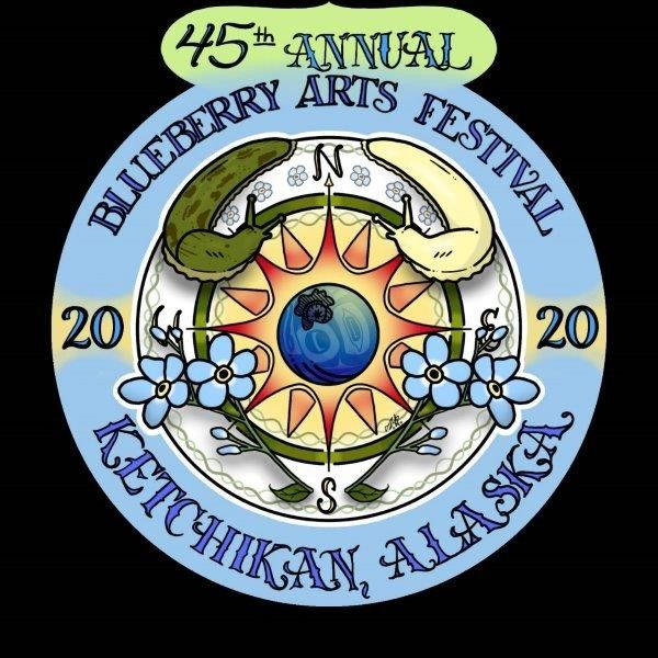 45th Annual Blueberry Arts Festival LOGO!!!