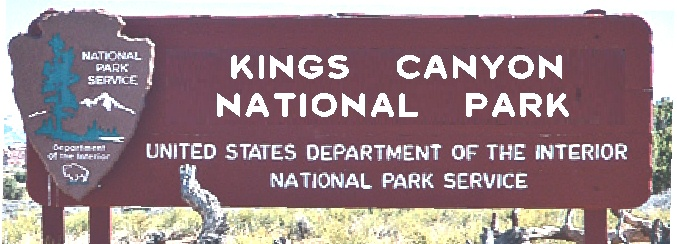 G16001 - Carved Cedar National Park Entrance Sign