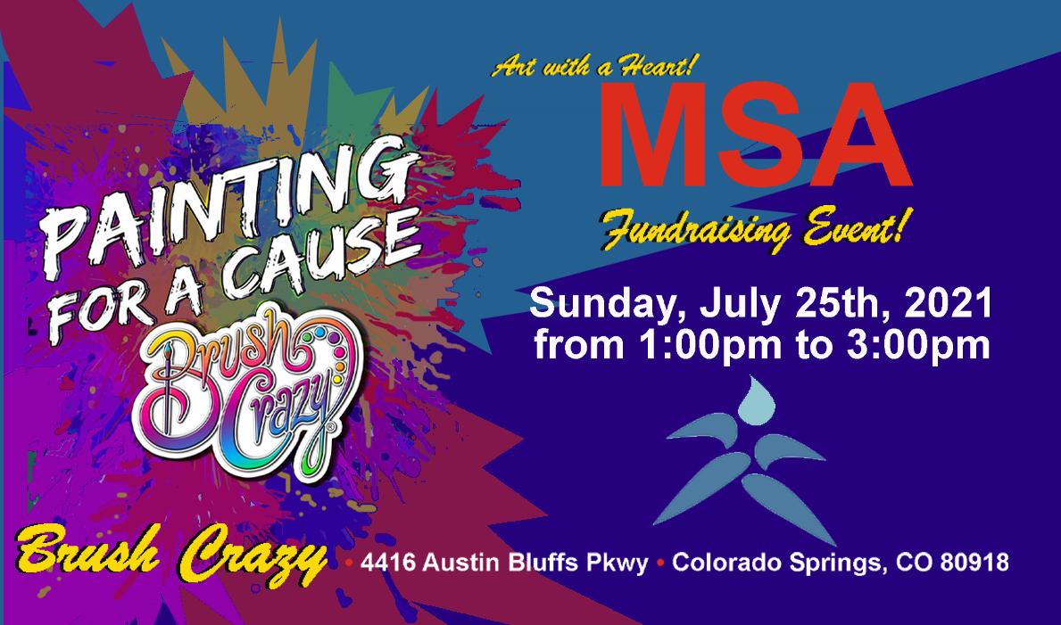 Fundraiser at Brush Crazy!