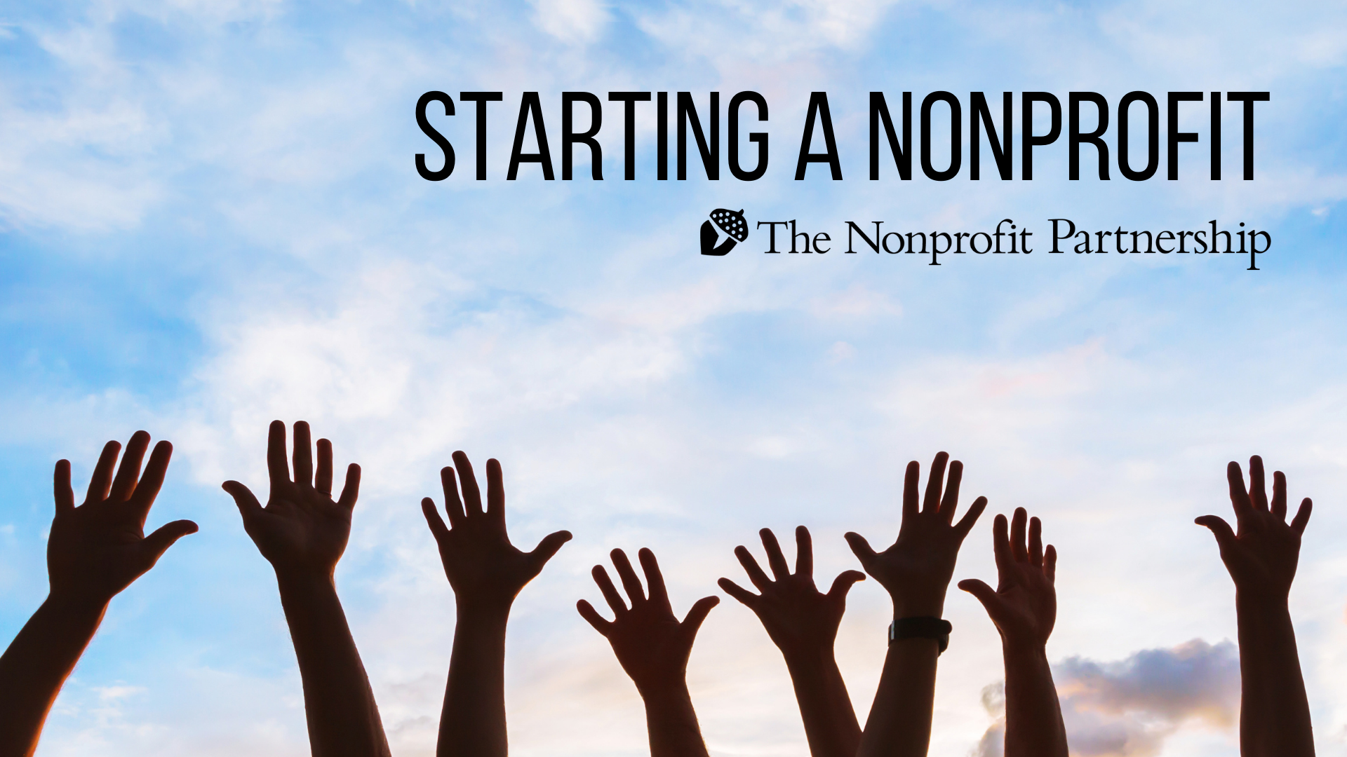 [Zoom Meeting] Starting a Nonprofit
