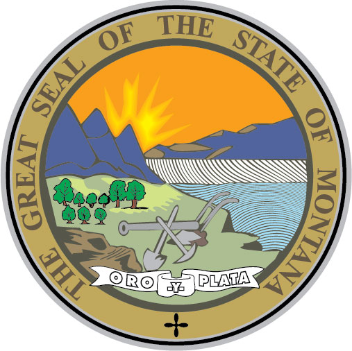 W32311 - Seal of the State of  Montana Wall  Plaque (Version 2)