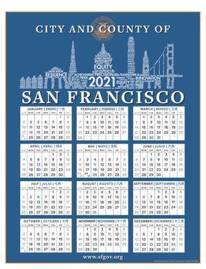 CCSF 2021 Calendar
