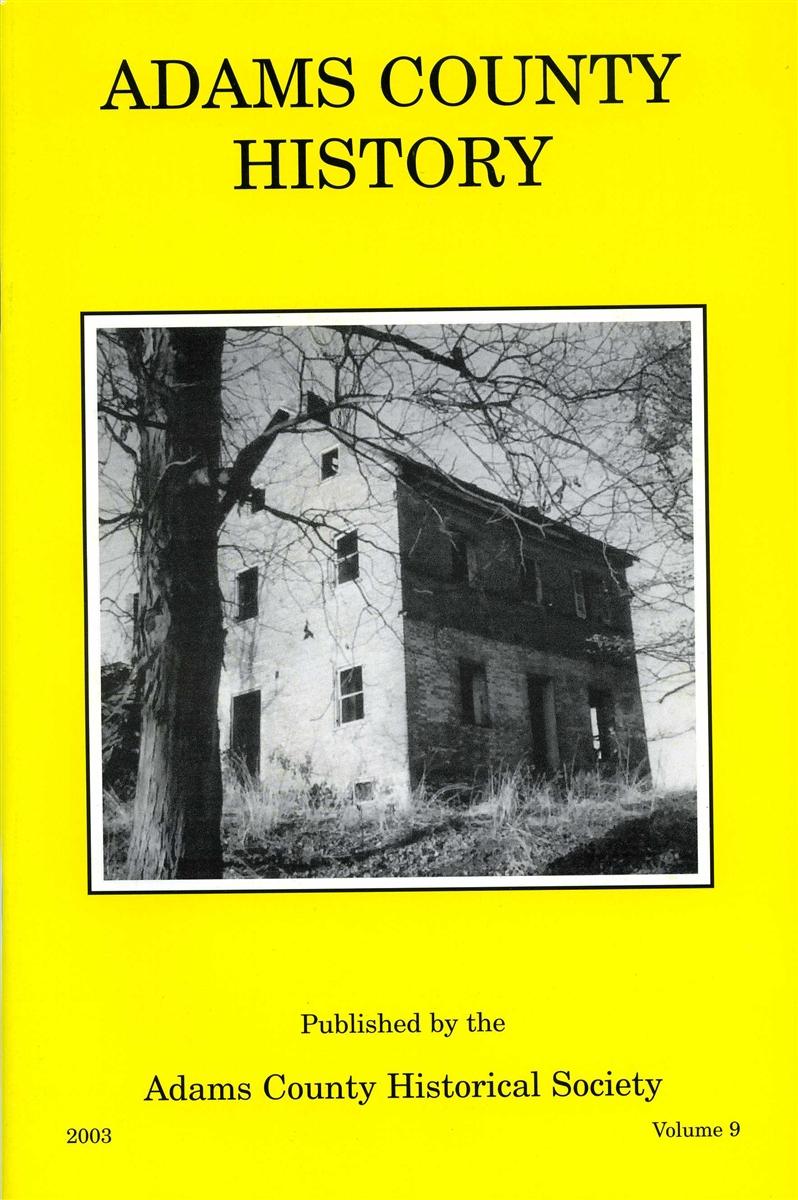 Adams County History Vol 9