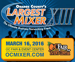 2016 Orange County Largest Mixer - Click on ad for info