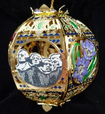 ...South Dakota Commemorative Ornament