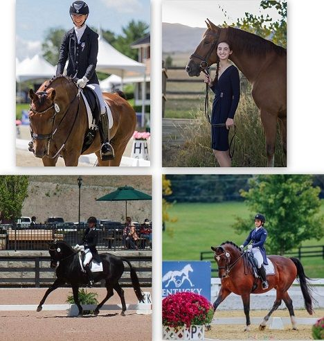 Four Young Riders Selected for 2019 International Dream Program