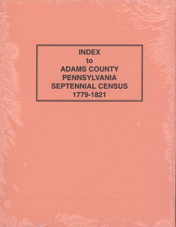 Index to Adams County, PA: Septennial Census