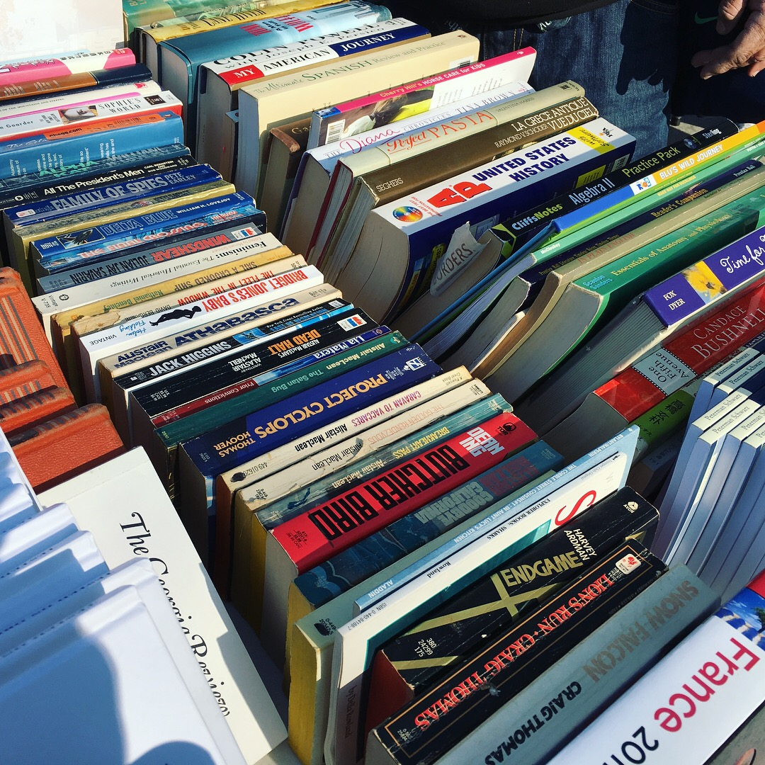 $1 Donation Center Book Sale