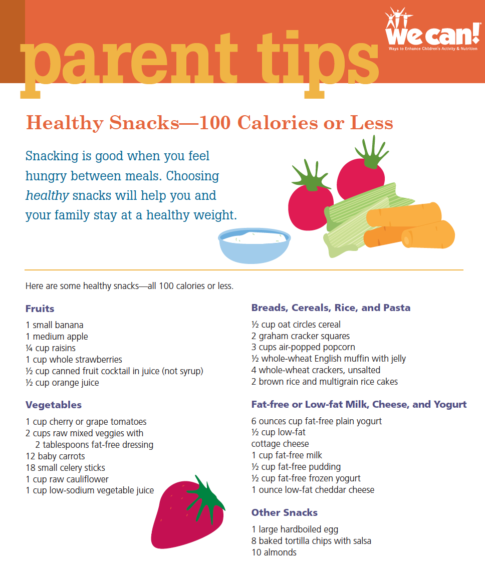 Snacks 100 Calories or less