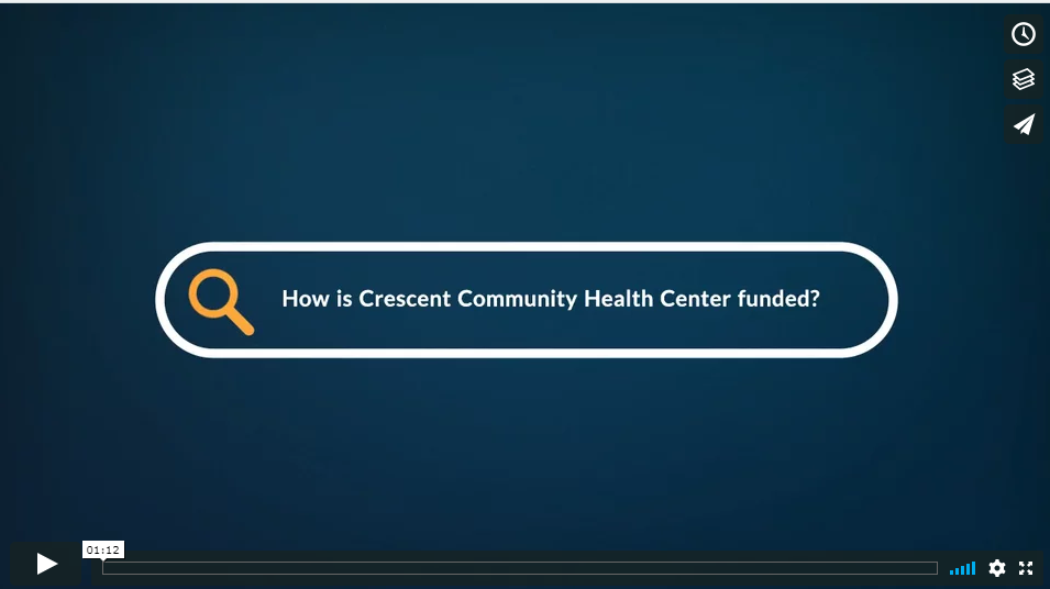 How is Crescent Community Health Center Funded?