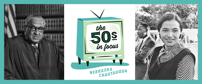 An Evening with Rosa Parks & Thurgood Marshall