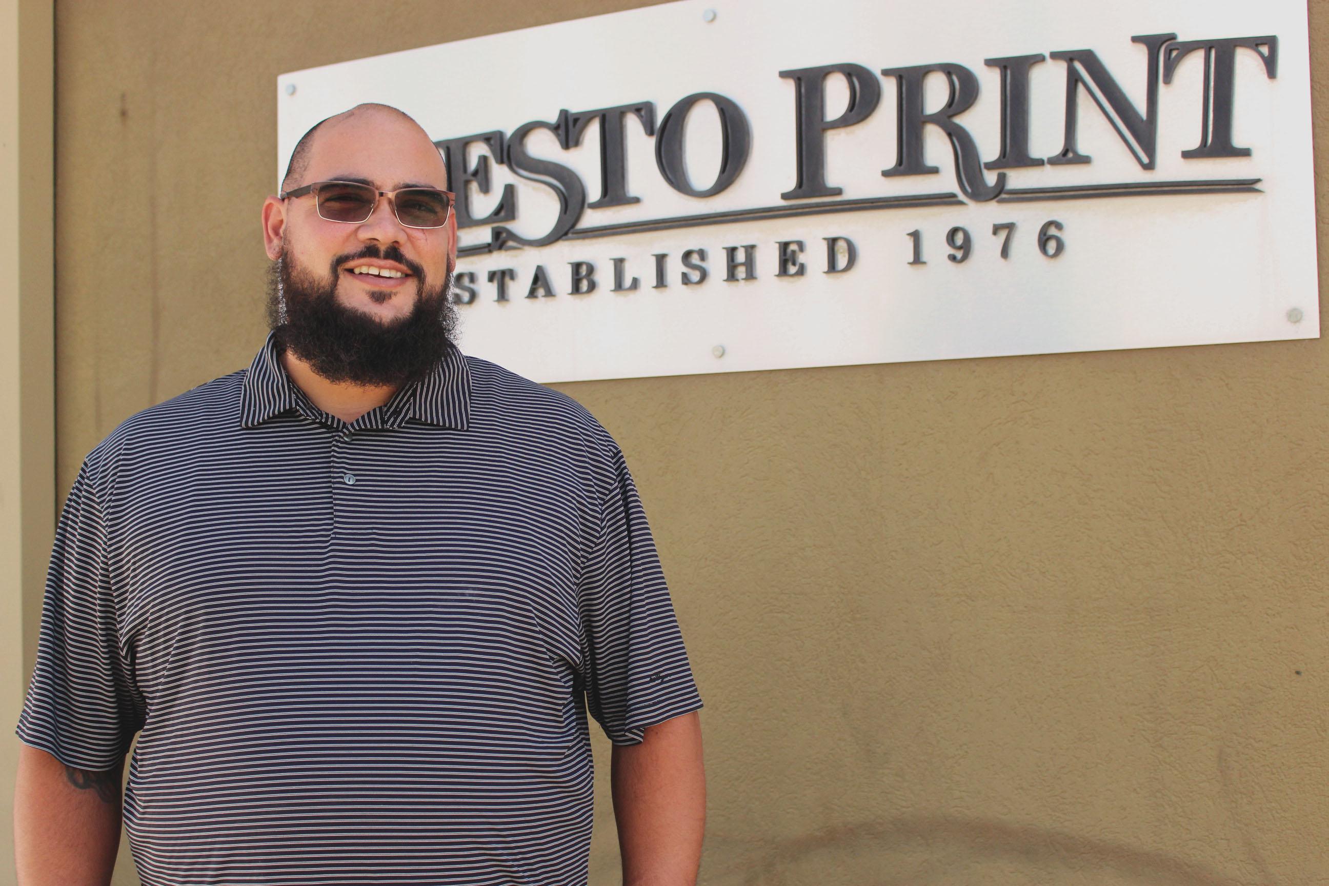 AJ Tarango- Delivery Driver/ Customer Service