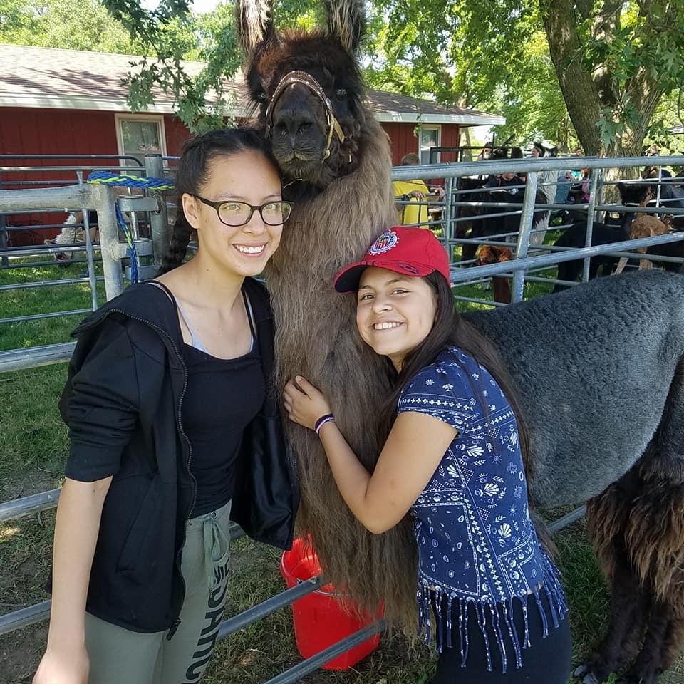 Camp Summergold Mentoring Girls