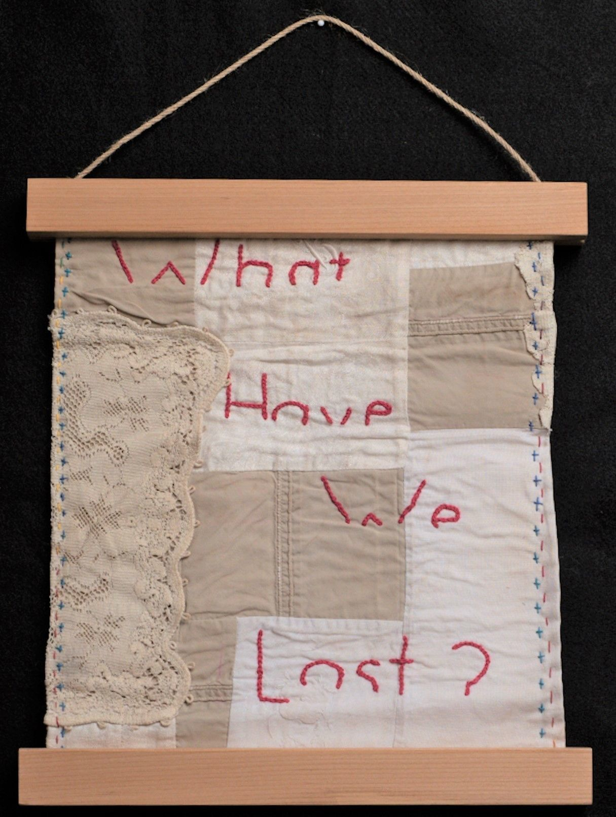 """Ann Carlson - """" What Have We Lost?"""""""