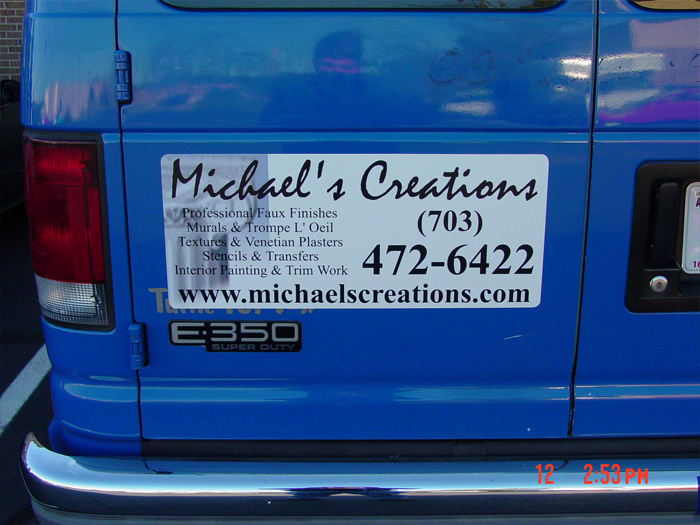 Michaels Creations Car Magnetic