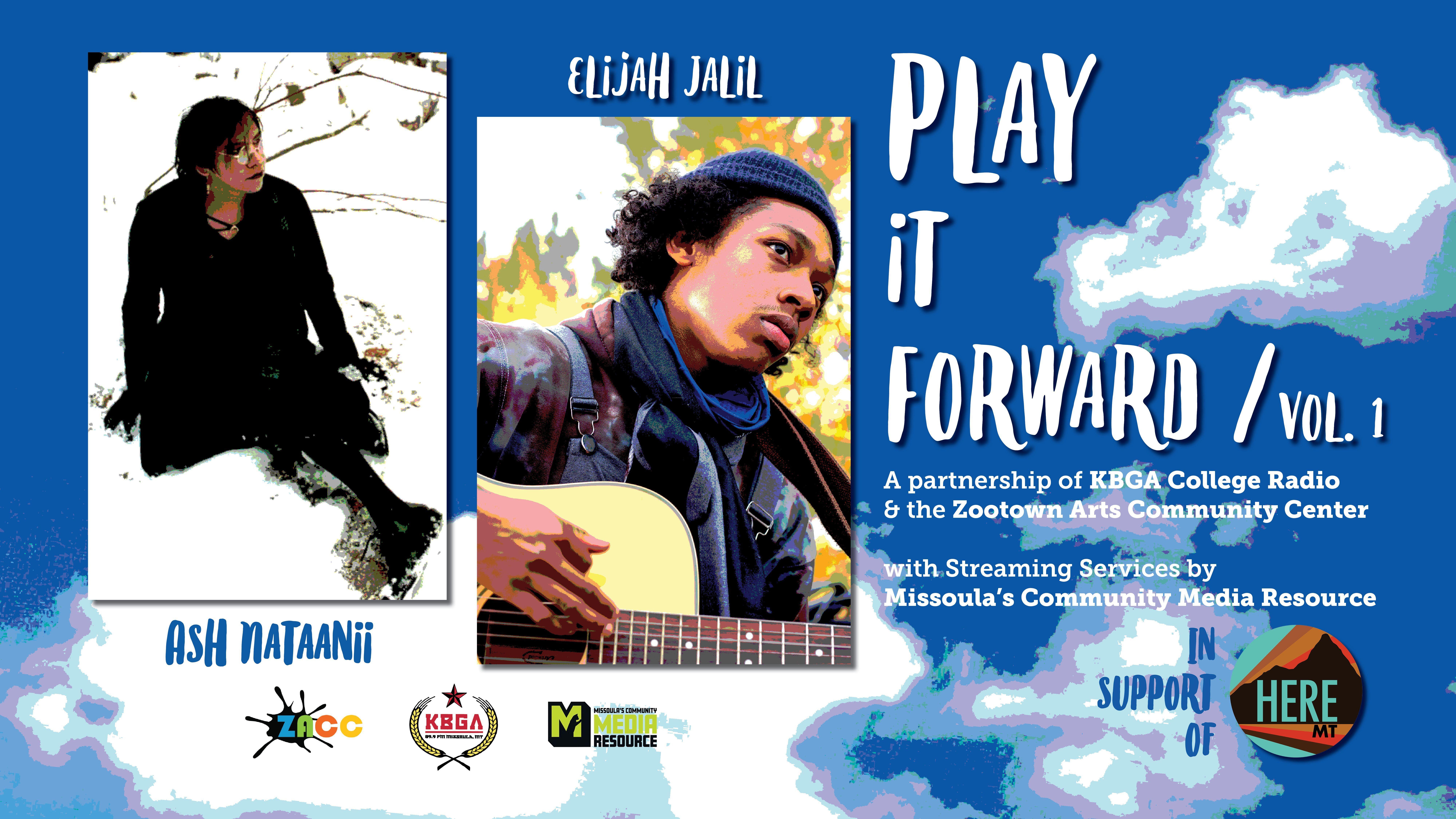 Play It Forward: Ash Nataanii & Elijah Jalil for HereMT