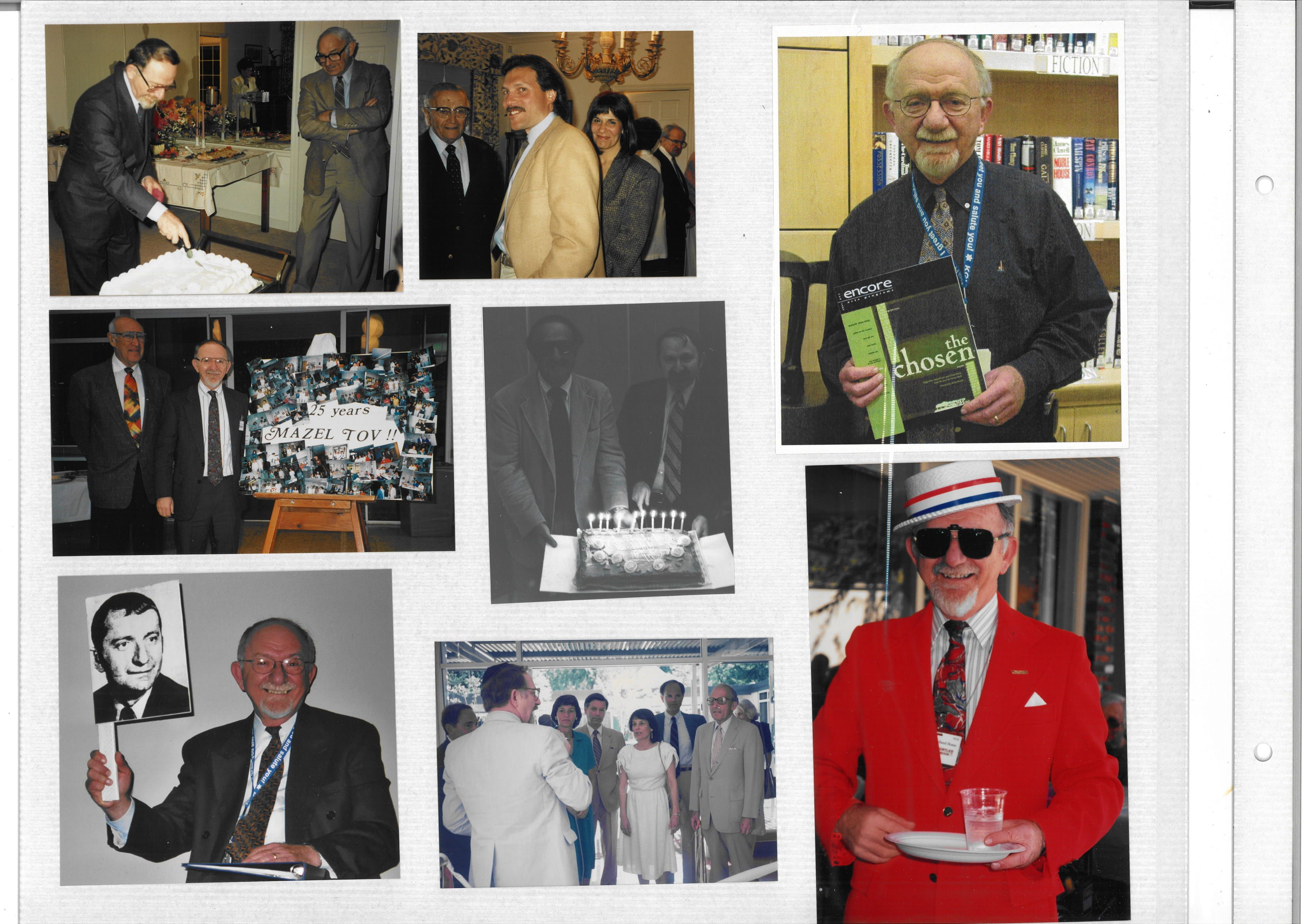 25 years of working with Kline Galland (1994)