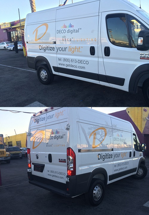 DECO LIGHTING  VEHICLE WRAP