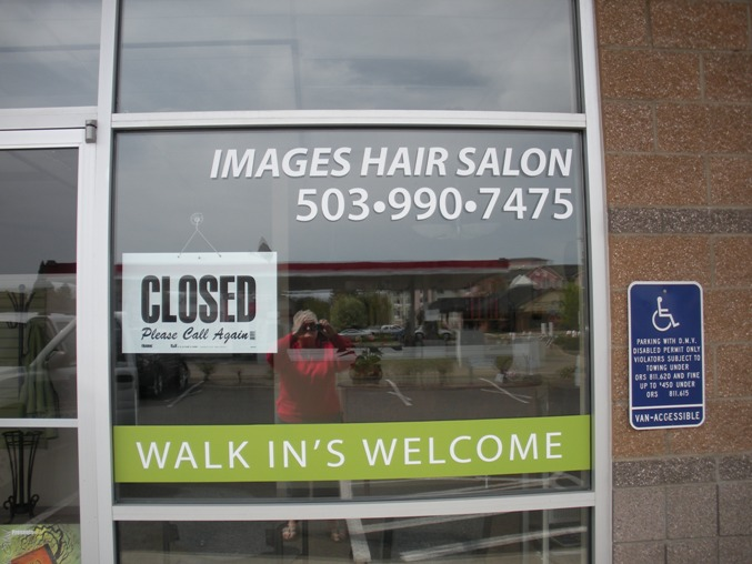 Images Hair Salon Window Graphics