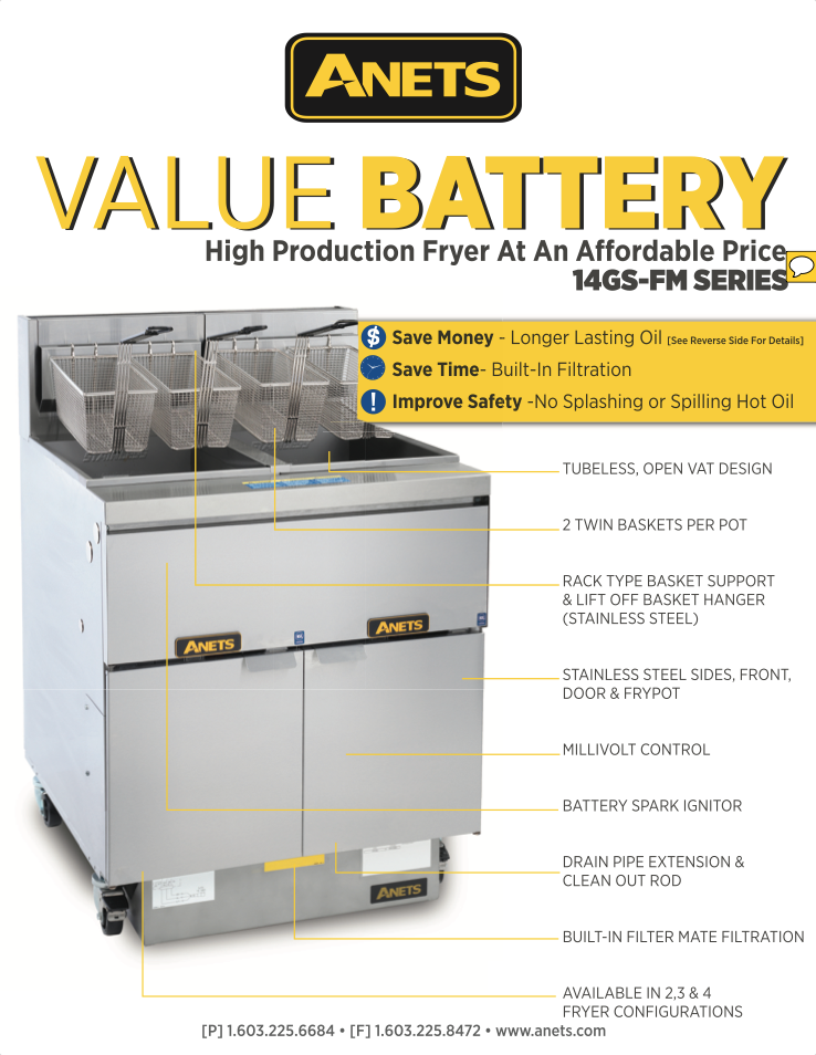 14GS Value Battery Flyer