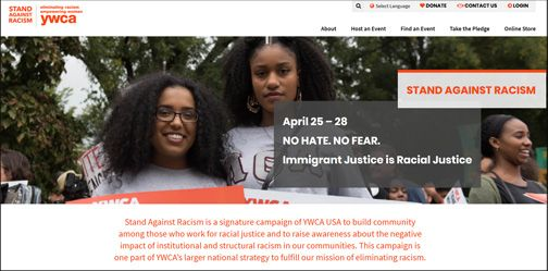 Take a Stand Against Racism April 24-28, 2019