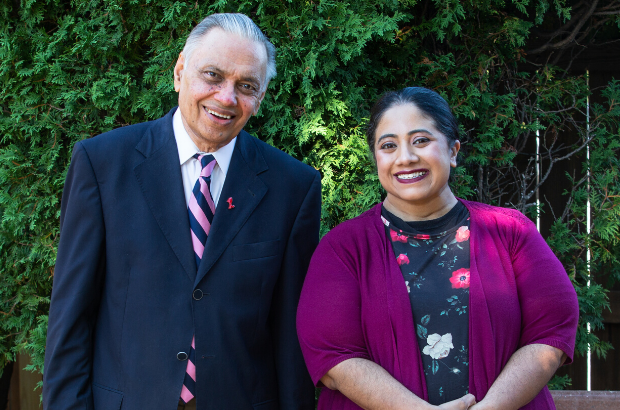 Giving From the Heart: Dr. Asok K. Ray