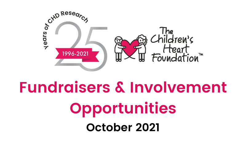October Fundraising & Involvement Opportunities