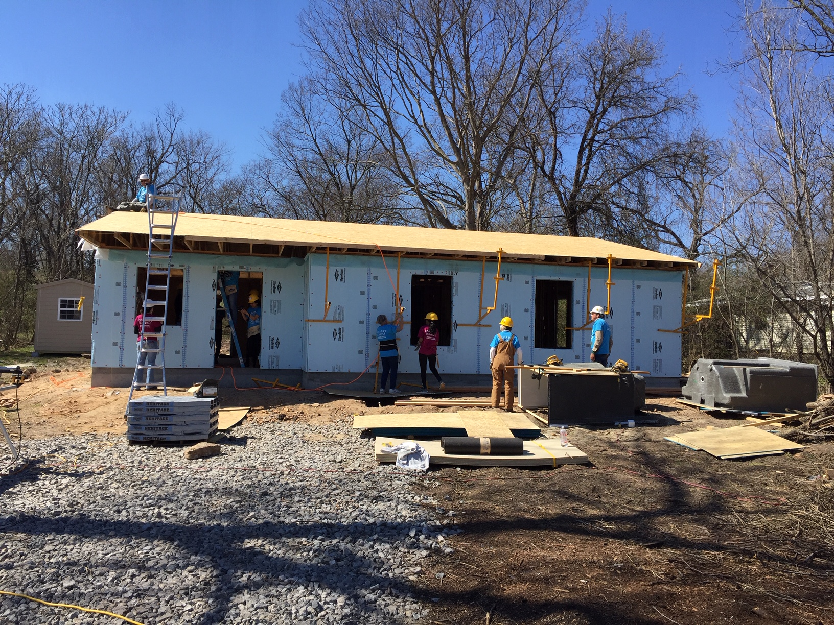 House #26 Under Construction, March 2019