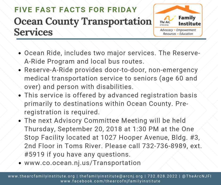 Ocean County Transportation Services