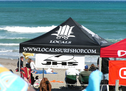Locals Surf Shop Tent
