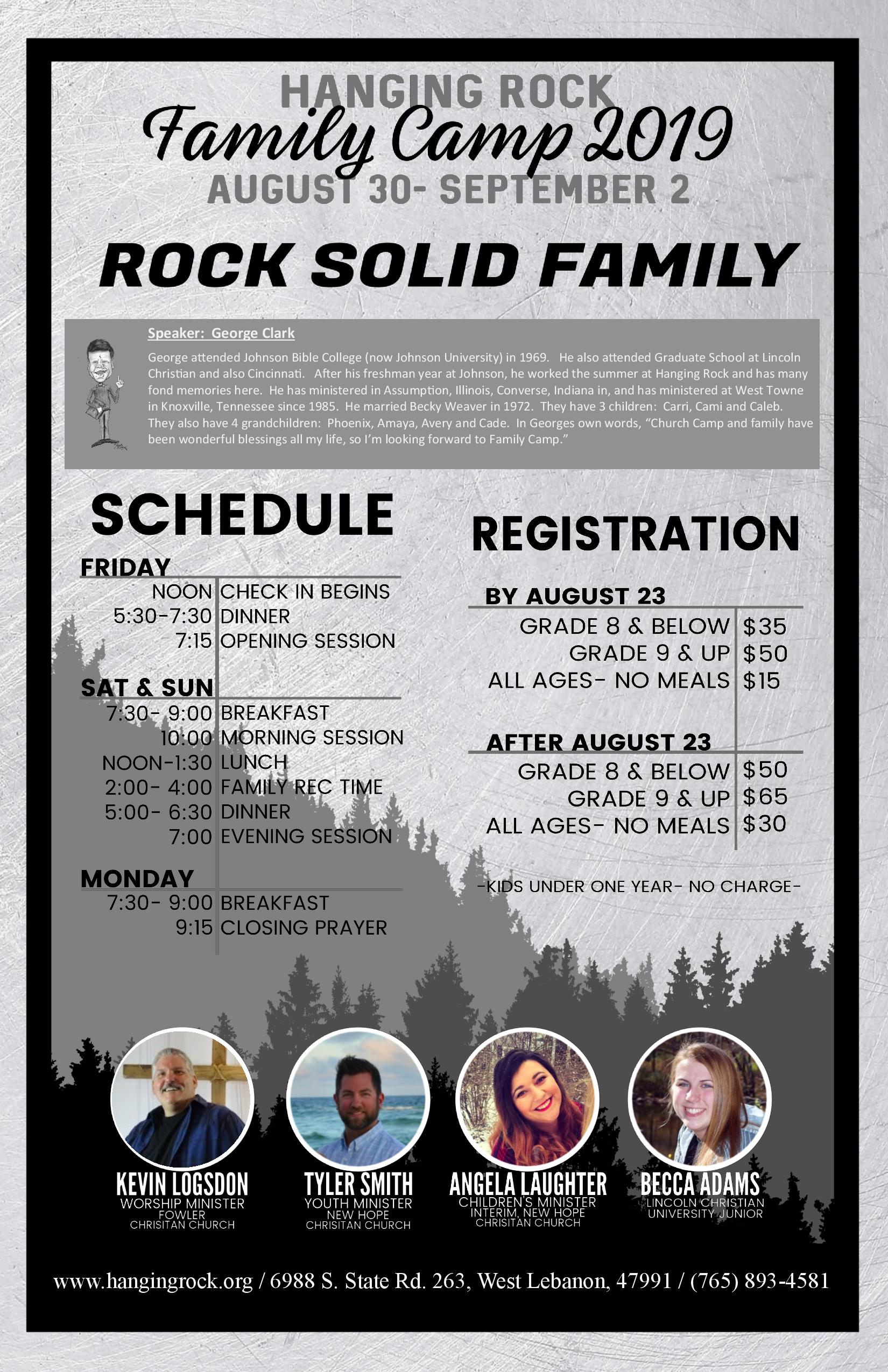 Labor Day Family Camp
