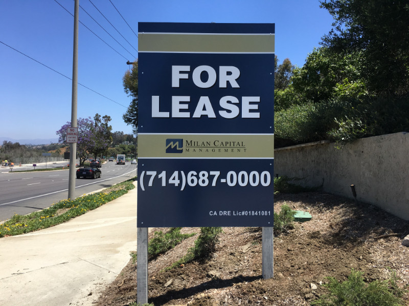 Commercial Property Signs in Orange County CA