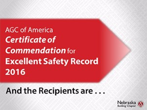 Safety Awards for 2016
