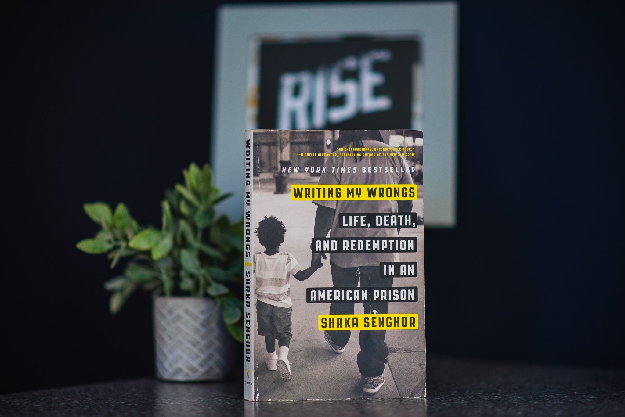 RISE Reads Recap: Writing My Wrongs by Shaka Senghor