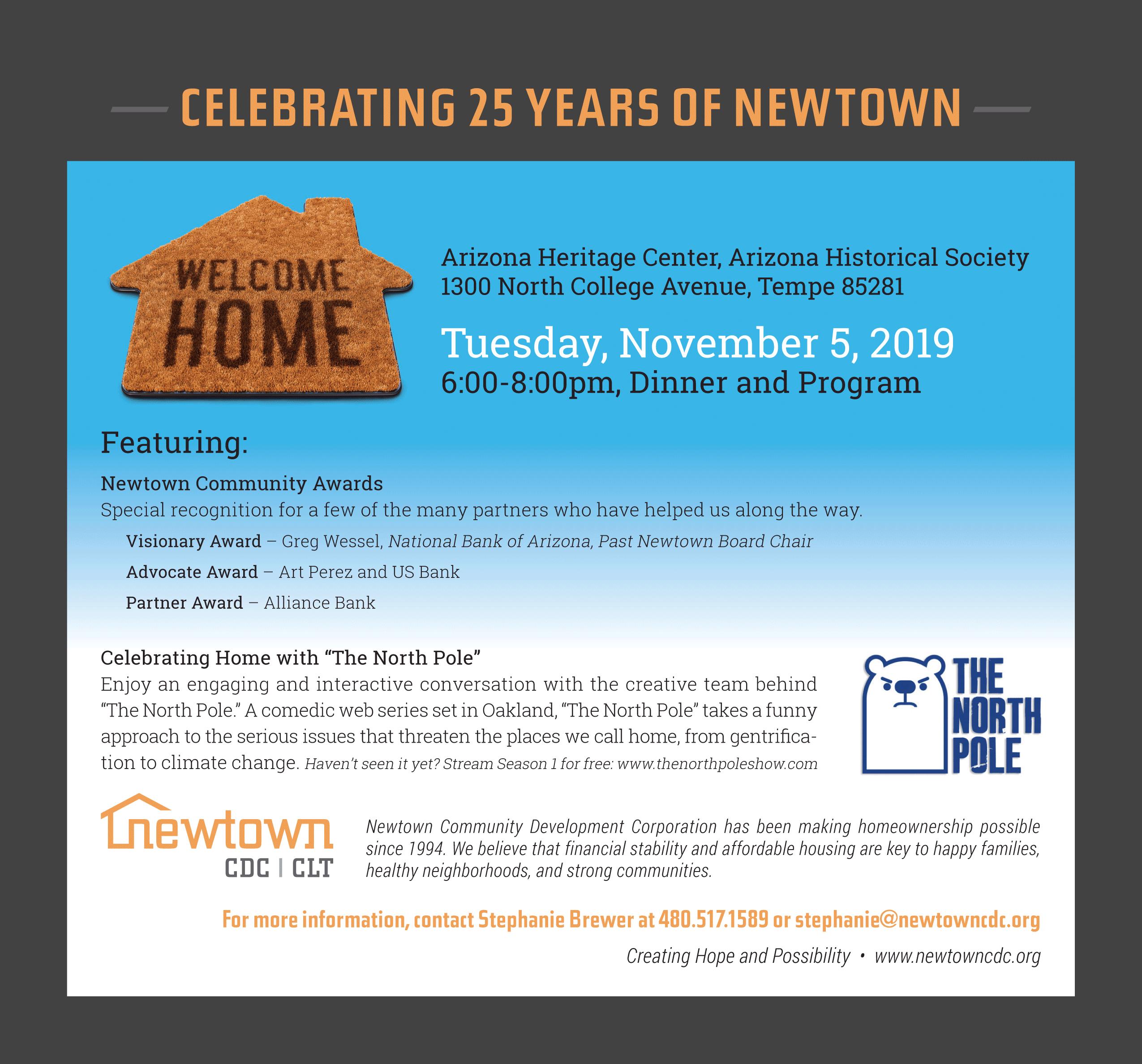 Celebrating 25 Years of Newtown