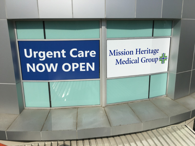 Hospital Window Graphics