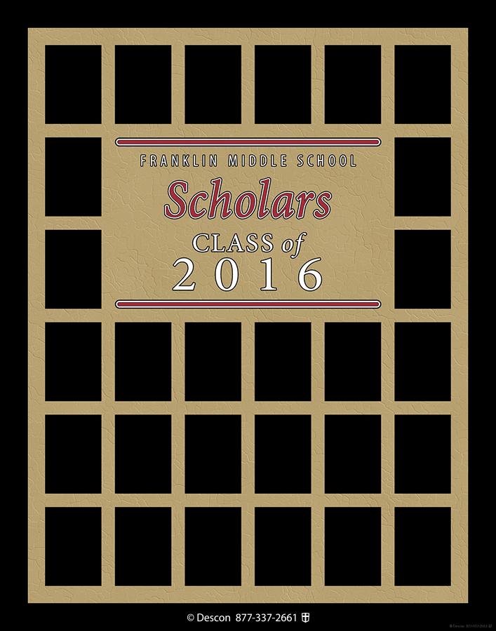 Student Scholars Frame