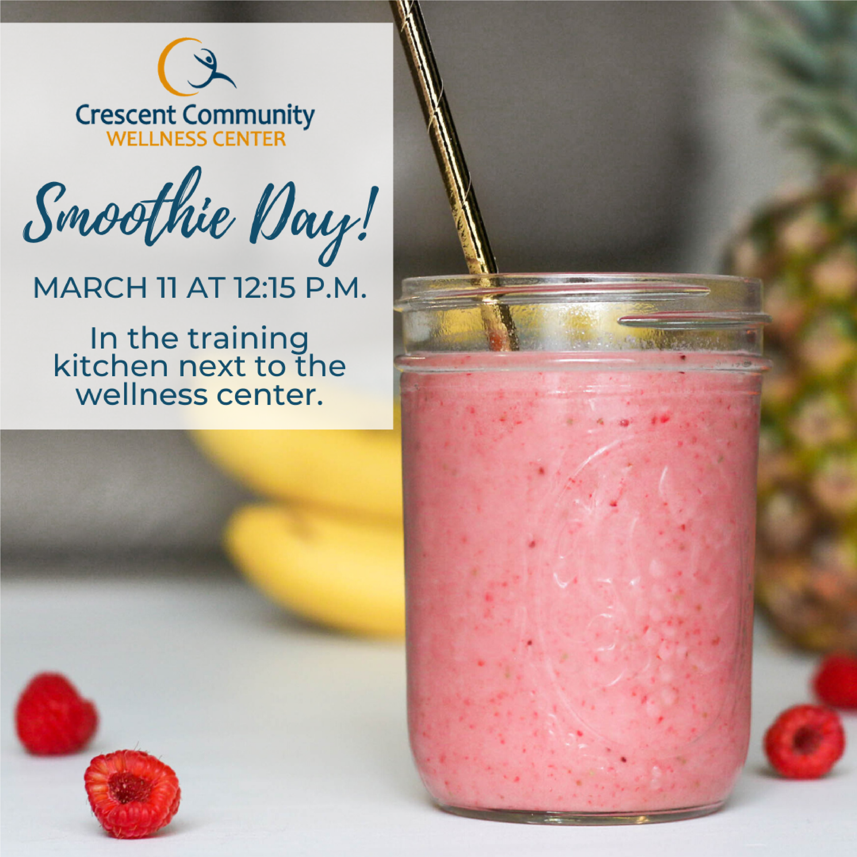 Join us for Smoothie Day!