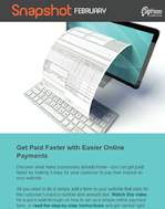 February Snapshot: Want to Get Paid Faster?