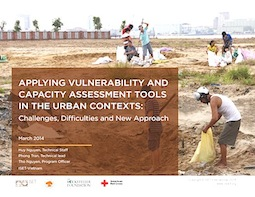 Applying vulnerability and capacity assessment (VCA) tools in the urban context: Challenges, Difficulties and New Approach