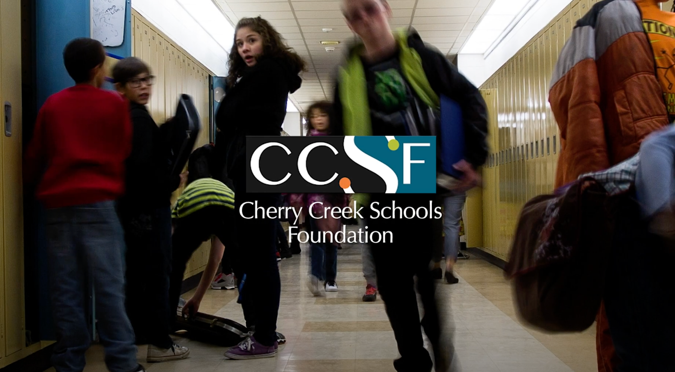 Thank You from the Cherry Creek Schools Foundation Board Members
