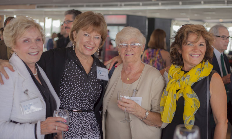 Barbara Queller, Mary Brescoll, Joan Isherwood, Jamie Spriet