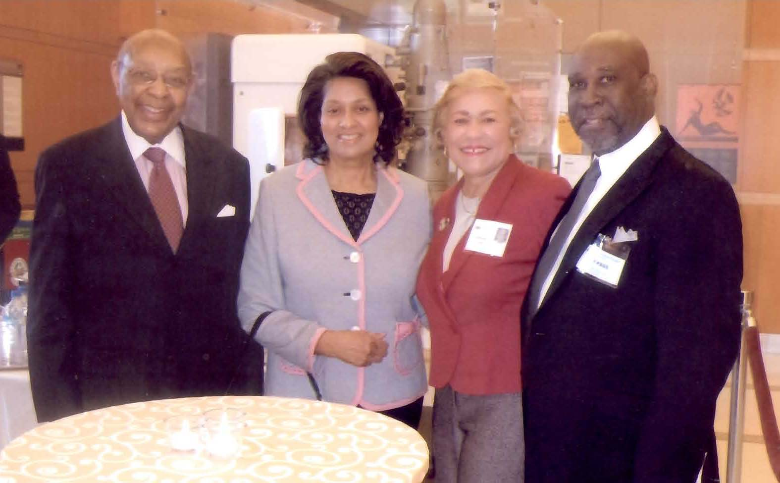 LOUIS STOKES PORTRAIT UNVEILED AT NATIONAL INSTITUTES OF HEALTH