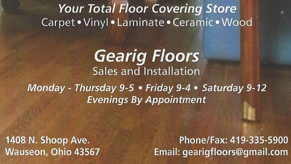 Gearig Floors