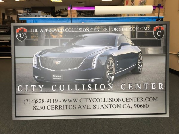 Custom signs and graphics for auto body shops in Orange County CA